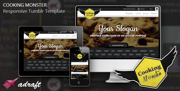 cooking-monster-responsive-tumblr-theme
