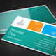 Metro Style Business Card - GraphicRiver Item for Sale