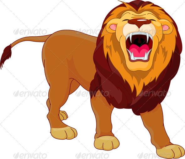 GraphicRiver Roaring Lion 4239599