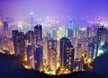 Hong Kong at Night - PhotoDune Item for Sale