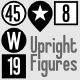 Upright Figures - GraphicRiver Item for Sale