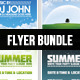Bundle I. - Flyer Template - GraphicRiver Item for Sale