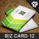 Business Card Design 12 - GraphicRiver Item for Sale