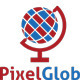 Pixel Globe Logo - GraphicRiver Item for Sale