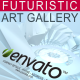 Futuristic Art Gallery - VideoHive Item for Sale
