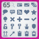 65 AI and PSD Basic strict Icons  - GraphicRiver Item for Sale