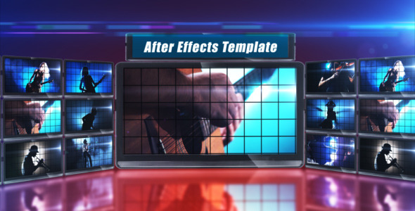 After Effects Project - VideoHive Studio Display 461278
