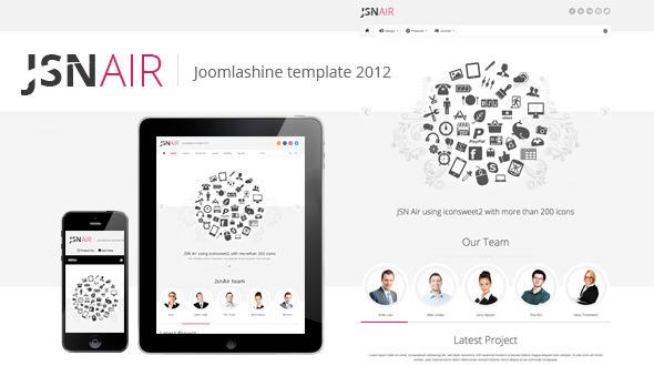 jsn-air-responsive-business-portfolio-template