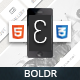 Boldr Mobile Retina | HTML5 & CSS3 And iWebApp - ThemeForest Item for Sale
