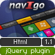 navIgo - Multipurpose Responsive Navigation Plugin - CodeCanyon Item for Sale
