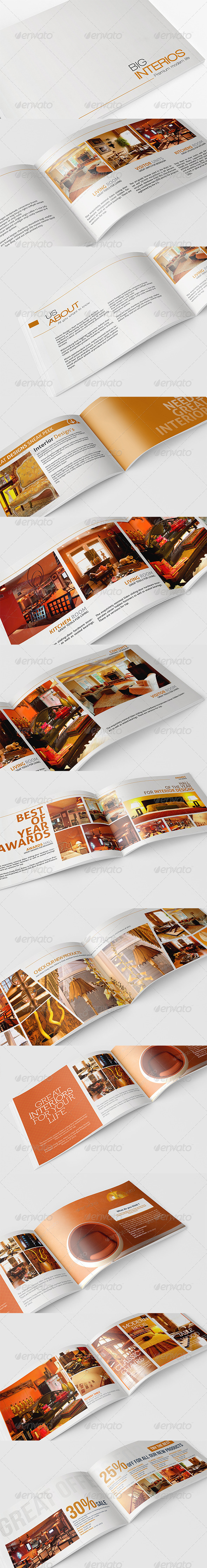 GraphicRiver A5 Booklet Catalogue Brochure 4281158