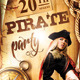 Pirate Party Event Flyer - GraphicRiver Item for Sale