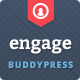 Engage - WordPress, BuddyPress, bbPress Theme - ThemeForest Item for Sale