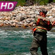 Fisherman with Spinning - VideoHive Item for Sale