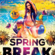 Spring Break Flyer Template - GraphicRiver Item for Sale