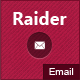 Raider - Responsive Multipurpose E-mail Template - ThemeForest Item for Sale