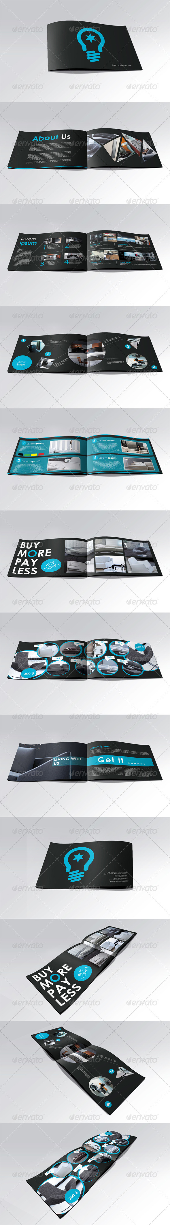 GraphicRiver A5 Booklet Catalogue Brochure 464918