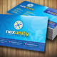 Nexunity Corporate Business Card - GraphicRiver Item for Sale