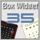 35 Web Boxes under Widget - GraphicRiver Item for Sale