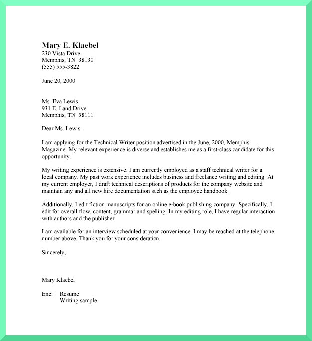 School Admission Request Letter