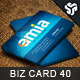 Business Card Design 40 - GraphicRiver Item for Sale