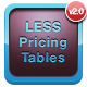CSS LESS Responsive Pricing Tables Pack V2 - CodeCanyon Item for Sale