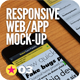 Responsive Screen Web | App Mock-Up - GraphicRiver Item for Sale