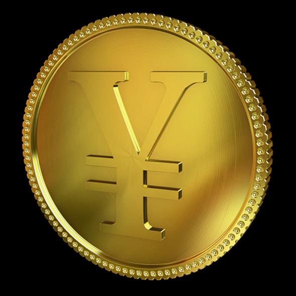 3DOcean Yen Golden Coin 4351697