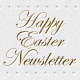 Happy Easter Newsletter PSD Template - GraphicRiver Item for Sale