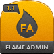 Flame Admin User Interface - ThemeForest Item for Sale