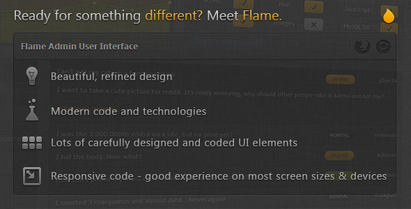 flame-admin-user-interface