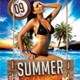 Summer Celebration Flyer Template - GraphicRiver Item for Sale