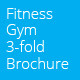 Gym Fitness Tri-Fold Brochure - GraphicRiver Item for Sale