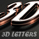 3D Text Generator - GraphicRiver Item for Sale
