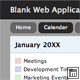 Blank Web Application 2 - Single Column, Fixed Layout - ThemeForest Item for Sale