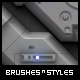 Brush Pack Professional volume 5 - Techno Drome - GraphicRiver Item for Sale