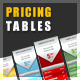 Pricing Tables (INVADERS Collection !) - GraphicRiver Item for Sale