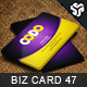 Business Card Design 47 - GraphicRiver Item for Sale