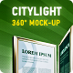 360 CityLight Mockup - GraphicRiver Item for Sale