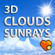 3d Moving Clouds Animation  - ActiveDen Item for Sale
