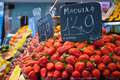 Strawberries in market - PhotoDune Item for Sale
