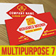 Multipurpose Business Card 7 - GraphicRiver Item for Sale