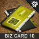 Business Card Design 10 - GraphicRiver Item for Sale