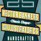 25 Illustrator Classic Vector Banners - GraphicRiver Item for Sale