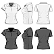 Women's Polo-shirt Design Template - GraphicRiver Item for Sale