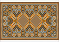 Oriental Rug in Warm Orange Brown Nuances - PhotoDune Item for Sale