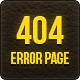 Three 404 Error Pages - GraphicRiver Item for Sale