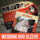 Wedding DVD / CD Sleeve With Disc Label - GraphicRiver Item for Sale