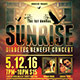 Sunrise Concert Flyer Template - GraphicRiver Item for Sale