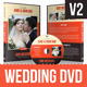 Wedding DVD Cover With Disc Label - GraphicRiver Item for Sale
